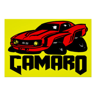 Chevrolet Camaro SS Posters