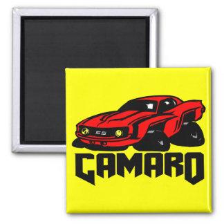 Chevrolet Camaro SS Square Magnet