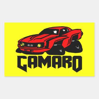 Chevrolet Camaro SS Rectangular Sticker