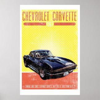 Chevrolet Corvette 1967 Poster