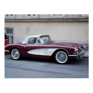 Corvette Convertible 1959 Retro Style Car Babygrow