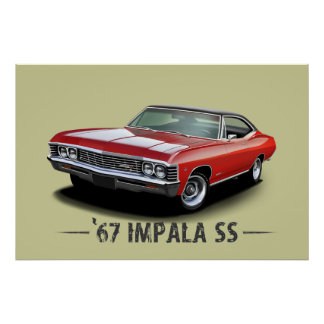 Chevrolet Impala Posters