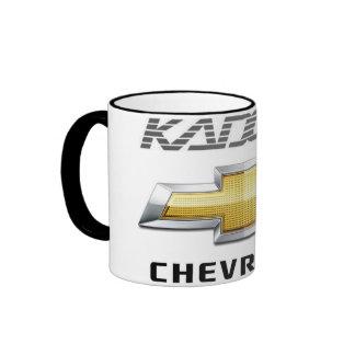 CHEVROLET - KADETT - MUG MUG WITH CONTOUR