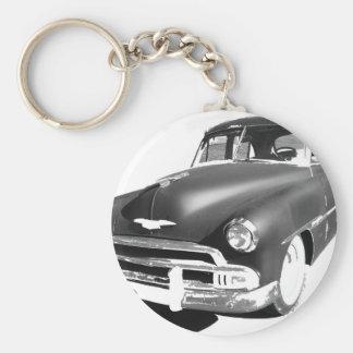 Chevrolet Basic Round Button Key Ring
