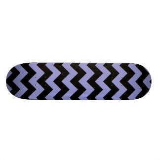 Chevron 1 Violet Tulip Custom Skateboard