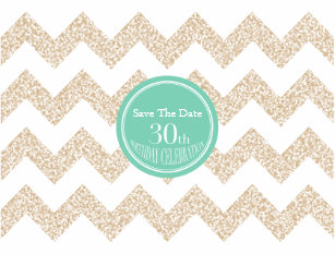 30th birthday save the date cards zazzle uk