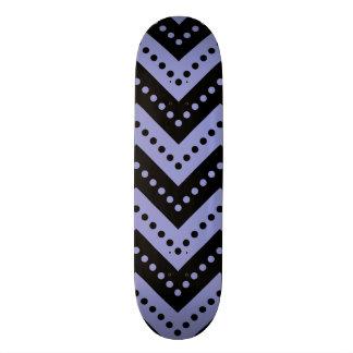 Chevron 7 Violet Tulip Skate Boards