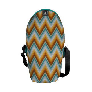 Chevron Background Pattern Messenger Bag