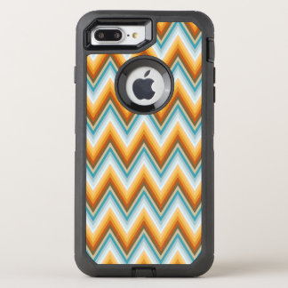 Chevron Background Pattern OtterBox Defender iPhone 8 Plus/7 Plus Case