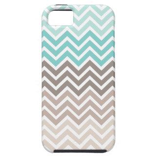 Chevron Beach Color Scheme iPhone 5 Cases