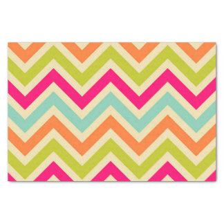 Chevron Classic Color Pattern Tissue Paper