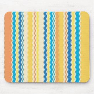 Chevron Colorful Zigzag Stripe Decorative Mouse Pad