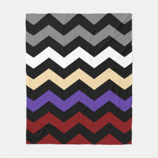 Chevron Colour Combination Fleece