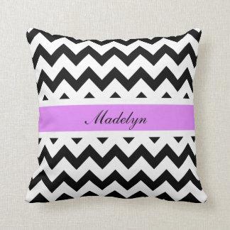 Chevron Custom Name Pillow