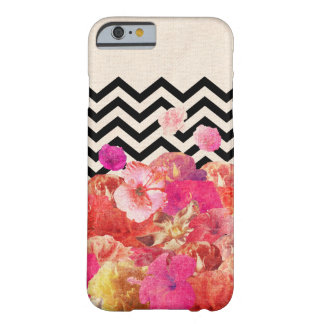 Chevron Flora II Barely There iPhone 6 Case