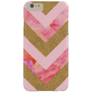 Chevron Flower Glitter Case