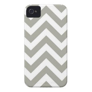 Chevron in Grey iPhone 4 Cases