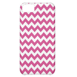 Chevron iPhone 5 Case in Pink Flambe