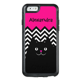 Chevron Kitty Cat OtterBox iPhone 6/6s Case