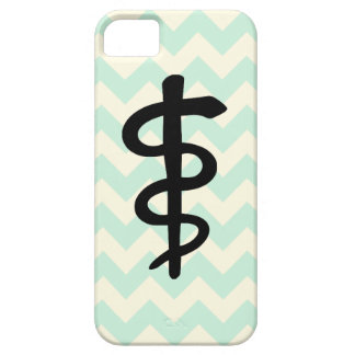 Chevron Medical Symbol iPhone Case