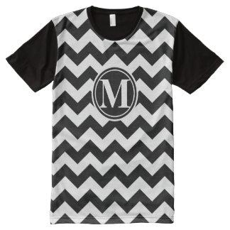 Chevron Monogrammed All-Over Print T-Shirt
