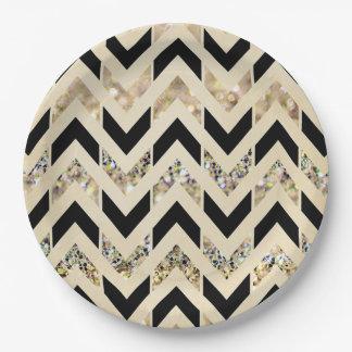 Chevron Paper Plate