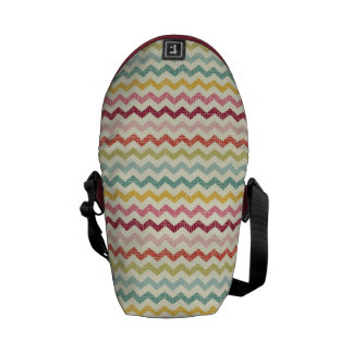 Chevron Pattern 3 Messenger Bags