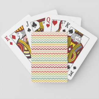 Chevron Pattern 4 2 Playing Cards