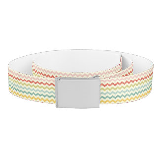 Chevron Pattern 4 Belt