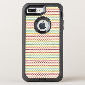 Chevron Pattern 4 OtterBox Defender iPhone 7 Plus Case