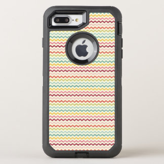 Chevron Pattern 4 OtterBox Defender iPhone 8 Plus/7 Plus Case