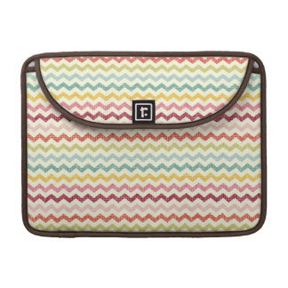 Chevron Pattern 4 Sleeve For MacBooks