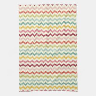 Chevron Pattern 4 Tea Towel