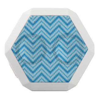 Chevron Pattern Background White Boombot Rex Bluetooth Speaker