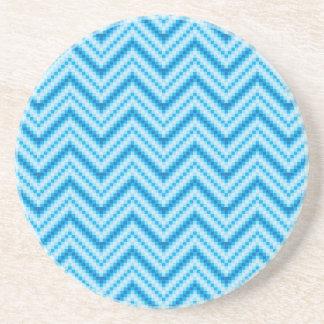 Chevron Pattern Background Coaster