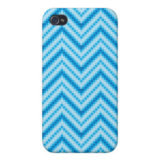 Chevron Pattern Background iPhone 4 Cases
