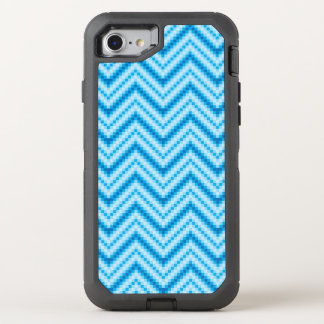 Chevron Pattern Background OtterBox Defender iPhone 8/7 Case