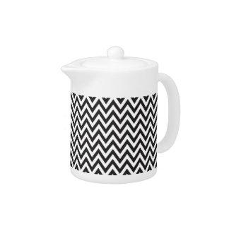 Chevron Pattern Black White Geometric Art Designs