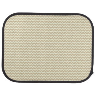 Chevron Pattern Car Mat