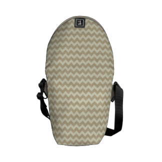 Chevron Pattern Courier Bag