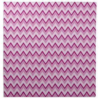 Chevron Pattern custom cloth napkins
