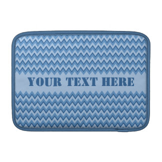 Chevron Pattern custom iPad / laptop sleeve