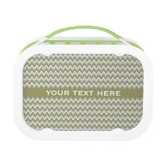 Chevron Pattern custom lunch box
