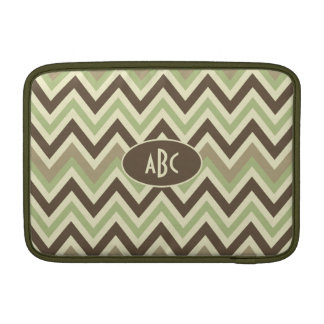 Chevron Pattern custom MacBook sleeve