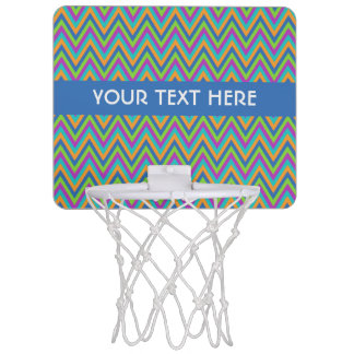 Chevron Pattern custom mini hoop