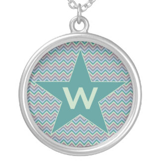 Chevron Pattern custom necklace