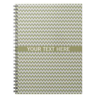 Chevron Pattern custom notebook