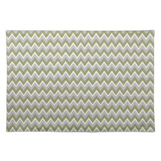 Chevron Pattern custom placemat