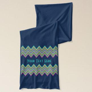 Chevron Pattern custom scarfs Scarf