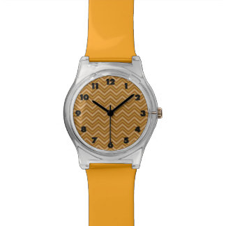 Chevron Pattern custom watches